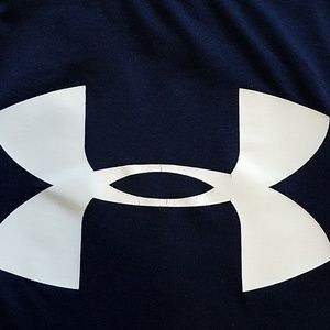 Under Armour Shirts & Tops - Under Armour Blue short sleeve YL Loose